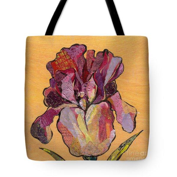 Iris V  - Series V Tote Bag by Shadia Derbyshire