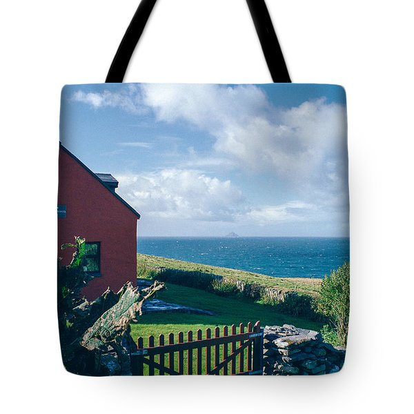 Irish School House Tote Bag by David Lange