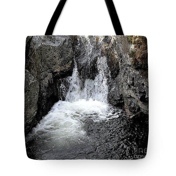 Irish Waterfall Tote Bag by Patrick J Murphy