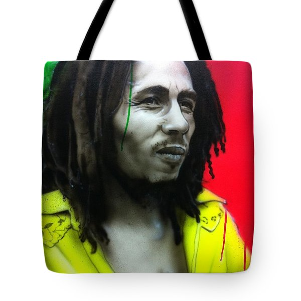 'iron Like A Lion In Zion' Tote Bag by Christian Chapman Art