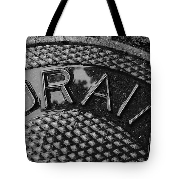 Irony Tote Bag by Luke Moore