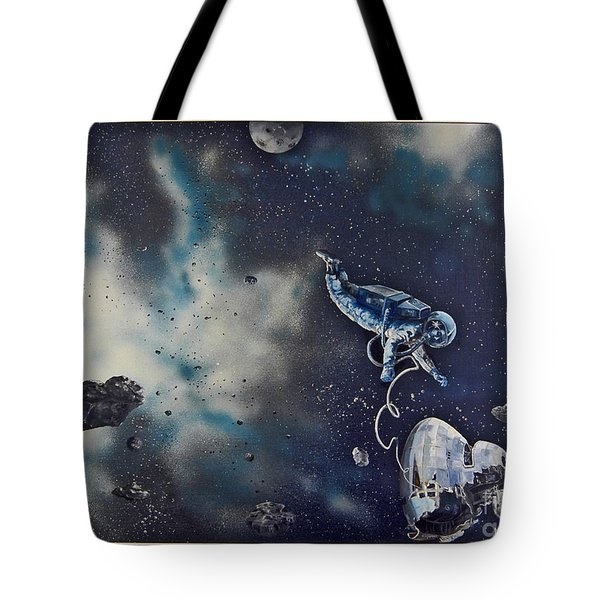 Is Anybody Out There Tote Bag by Murphy Elliott