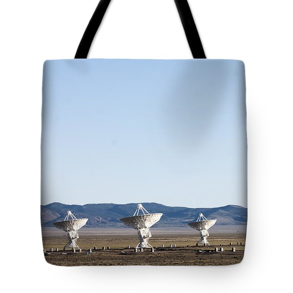 Is There Something Out There Tote Bag by Steven Ralser