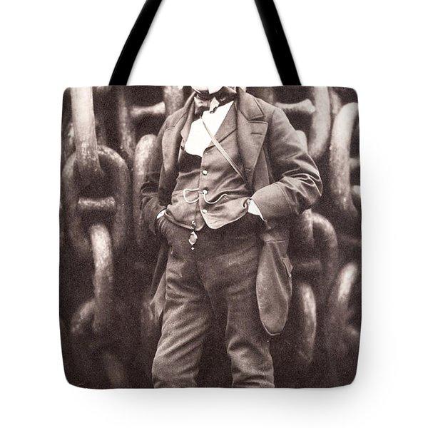 Isambard Kingdom Brunel  Tote Bag by Robert Howlett