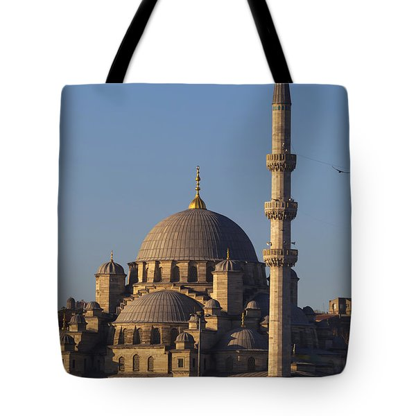 Islamic Mosque Istanbul, Turkey Tote Bag by Mark Thomas
