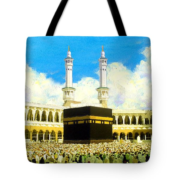 Islamic Painting 006 Tote Bag by Catf