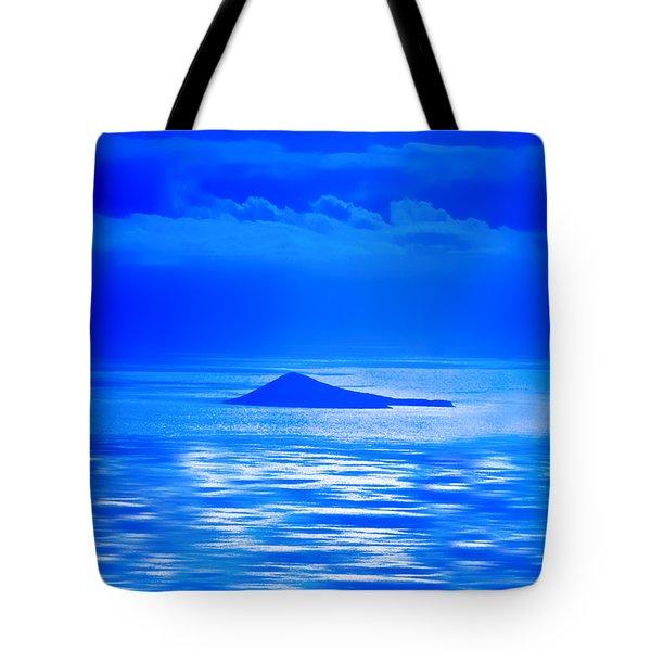 Island Of Yesterday Wide Crop Tote Bag by Christi Kraft