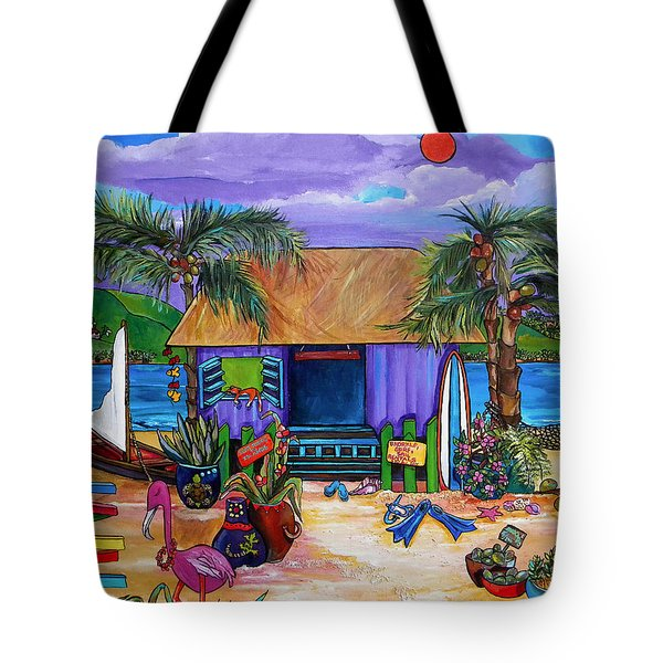 Island Time Tote Bag by Patti Schermerhorn
