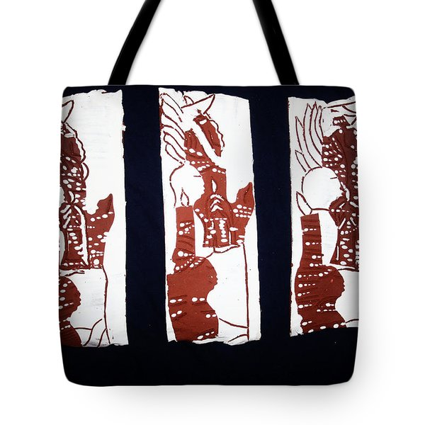 Islands Of Light Tote Bag by Gloria Ssali