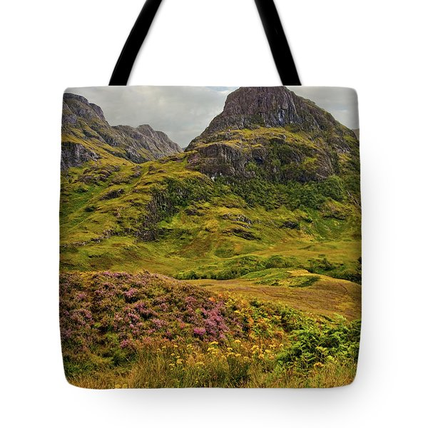 Isle Of Skye Tote Bag by Marcia Colelli