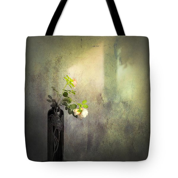 Isn't It Romantic Tote Bag by Theresa Tahara