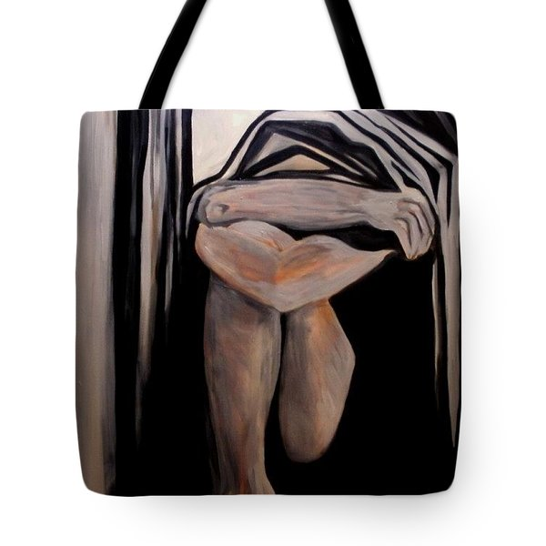 Isolation Tote Bag by Carolyn LeGrand