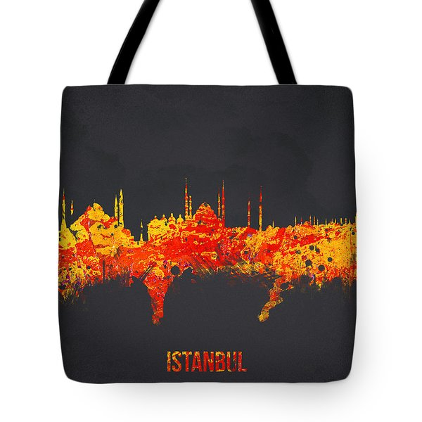 Istanbul Turkey Tote Bag by Aged Pixel