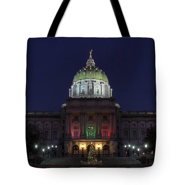 It Came Upon A Midnight Clear Tote Bag by Lori Deiter