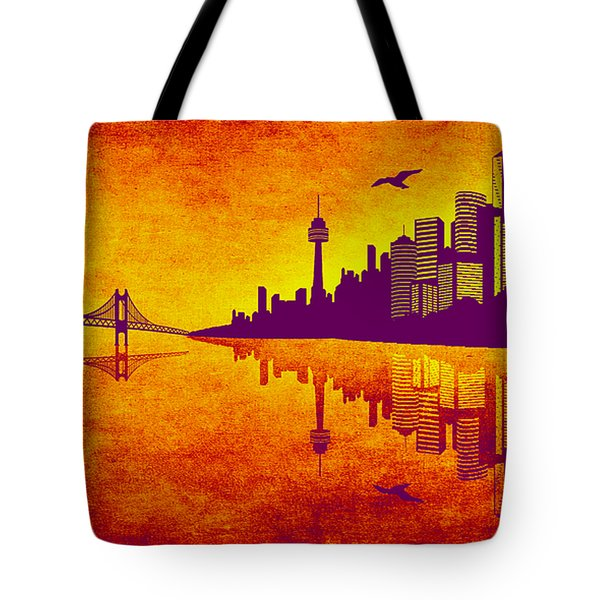 It Was Us That Scorched The Sky Tote Bag by Angelina Vick
