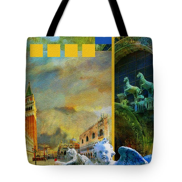 Italy 04 Tote Bag by Catf