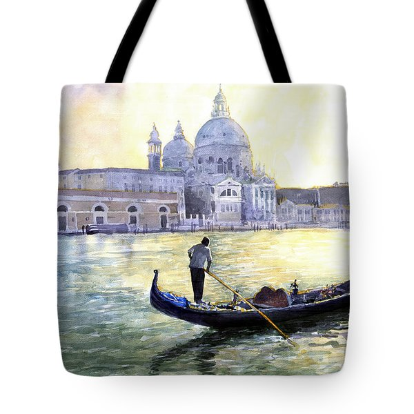 Italy Venice Morning Tote Bag by Yuriy Shevchuk