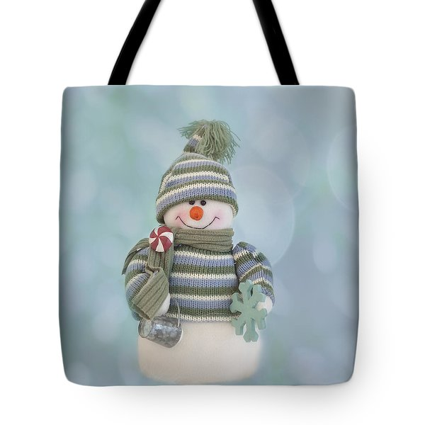 It's A Holly Jolly Christmas Tote Bag by Kim Hojnacki