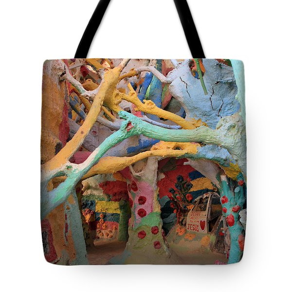 It's a Magical World Tote Bag by Laurie Search