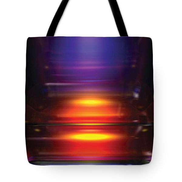 Its A Primary Thing Tote Bag by James Kramer