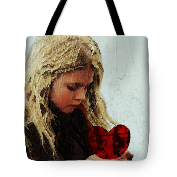 It's All I Have - Mixed Media Art By Sharon Cummings Tote Bag by Sharon Cummings