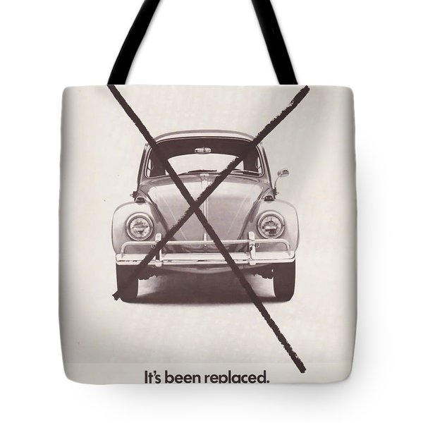 It's Been Replaced Tote Bag by Nomad Art And  Design