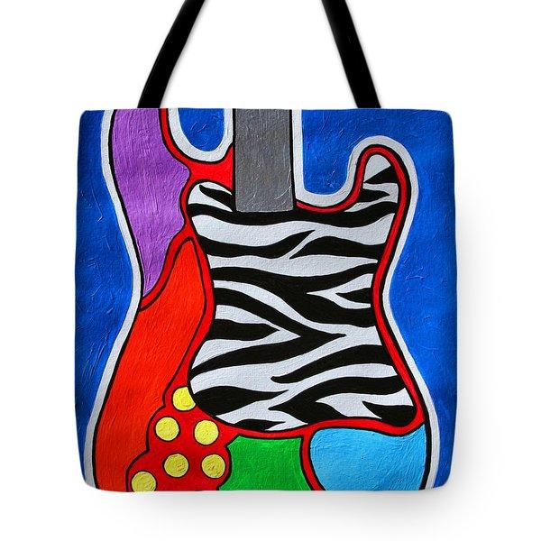It's Electric Acrylic By Diana Sainz Tote Bag by Diana Sainz