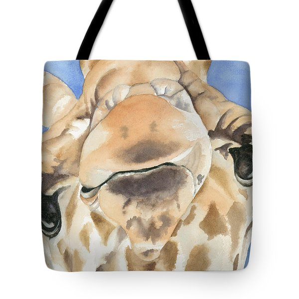 It's Lonely At The Top Tote Bag by Kimberly Lavelle
