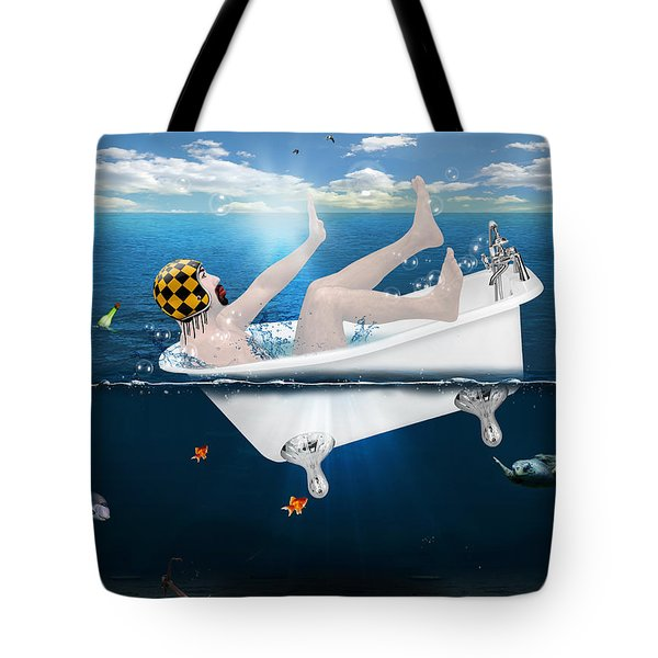 Its Not The Time  Tote Bag by Mark Ashkenazi