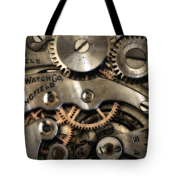 It's Time Tote Bag by Robert Woodward