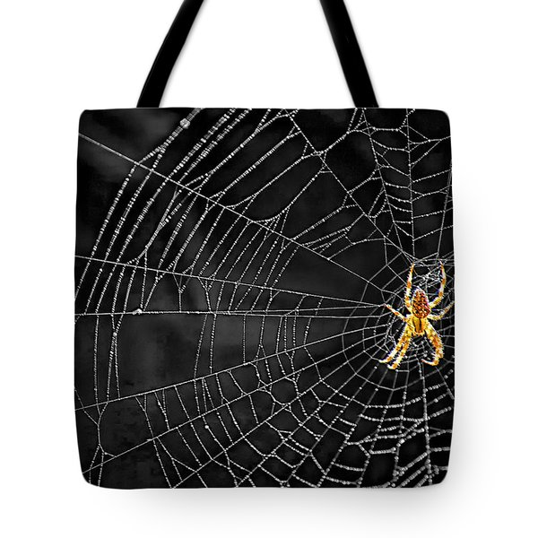 Itsy Bitsy Spider My Ass 3 Tote Bag by Steve Harrington