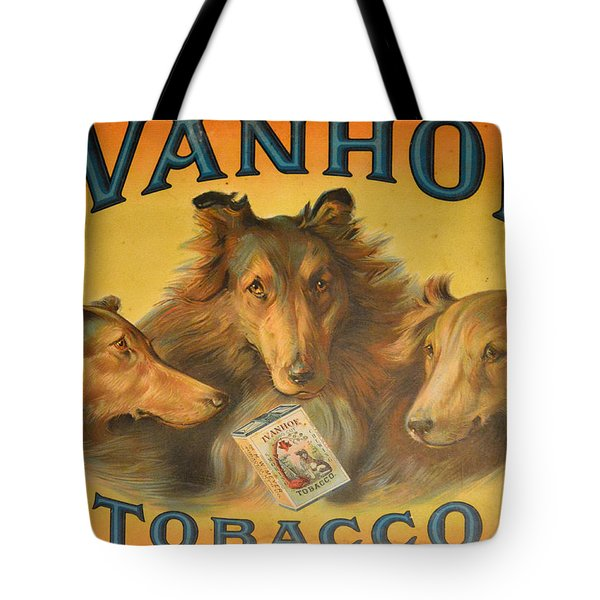 Ivanhoe Tobacco - The American Dream Tote Bag by Christine Till