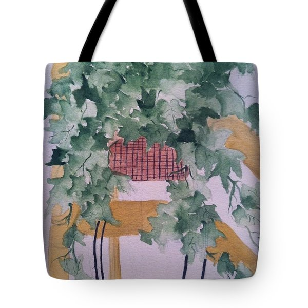 Ivy Tote Bag by Sherry Harradence