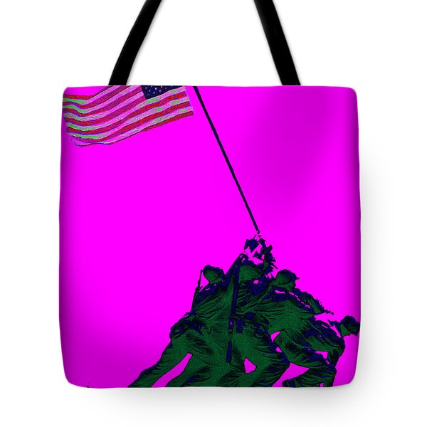 Iwo Jima 20130210 Tote Bag by Wingsdomain Art and Photography