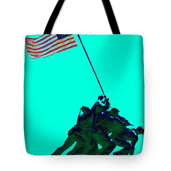 Iwo Jima 20130210m128 Tote Bag by Wingsdomain Art and Photography