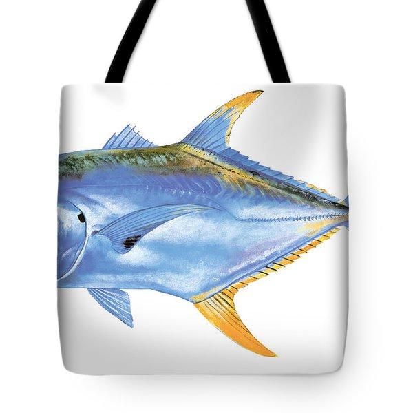 Jack Crevalle Tote Bag by Carey Chen