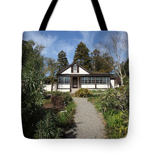 Jack London Cottage 5d22120 Tote Bag by Wingsdomain Art and Photography