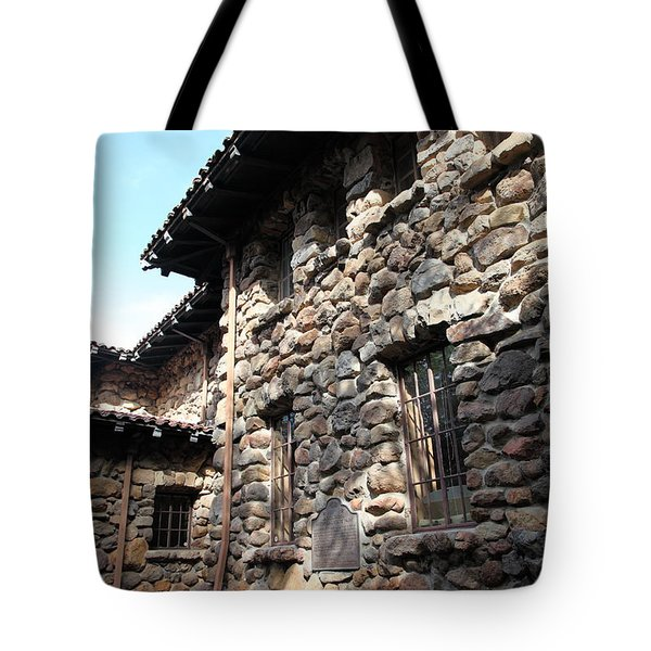 Jack London House Of Happy Walls 5d21967 Tote Bag by Wingsdomain Art and Photography