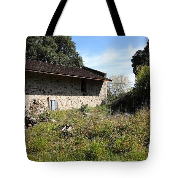 Jack London Ranch Distillery 5d22182 Tote Bag by Wingsdomain Art and Photography