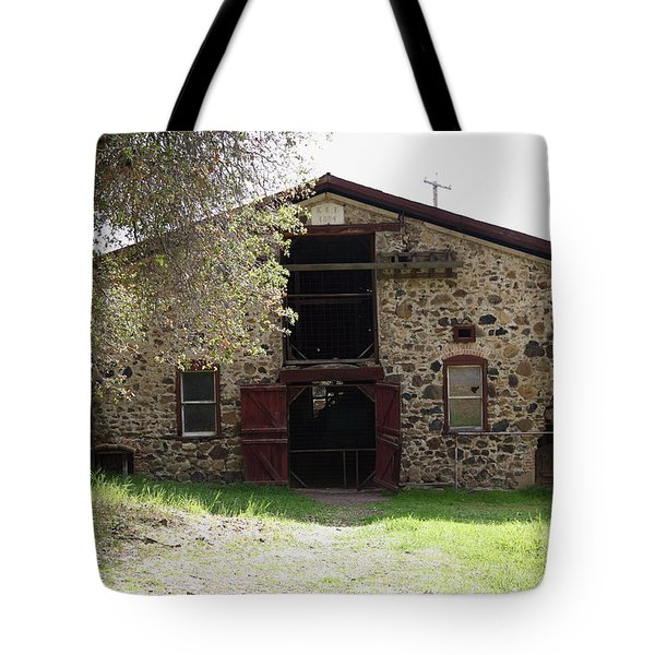 Jack London Sherry Barn 5D22070 Tote Bag by Wingsdomain Art and Photography