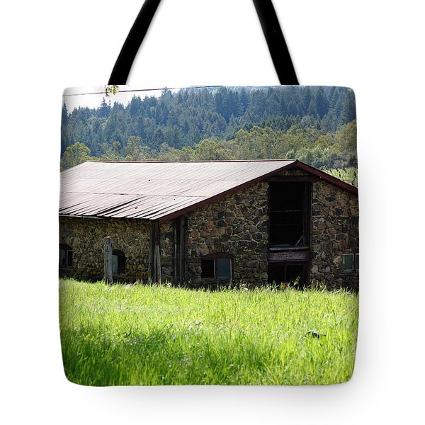 Jack London Stallion Barn 5d22057 Tote Bag by Wingsdomain Art and Photography