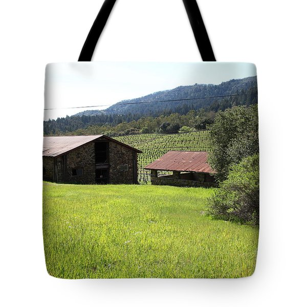 Jack London Stallion Barn 5d22058 Tote Bag by Wingsdomain Art and Photography