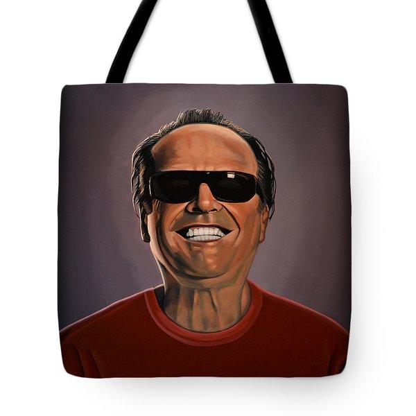 Jack Nicholson 2 Tote Bag by Paul Meijering