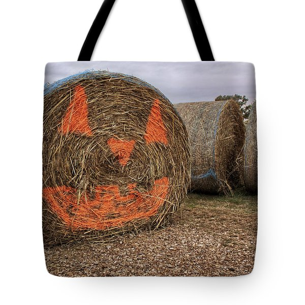 Jack-O-Lantern Hayroll Tote Bag by Jason Politte
