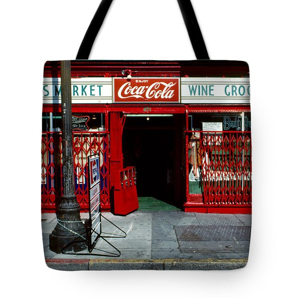Jack's Market Tote Bag by David Hohmann