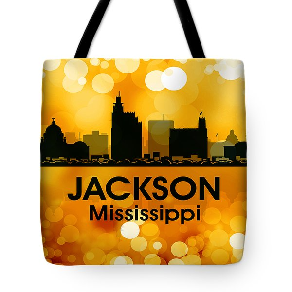 Jackson MS 3 Tote Bag by Angelina Vick