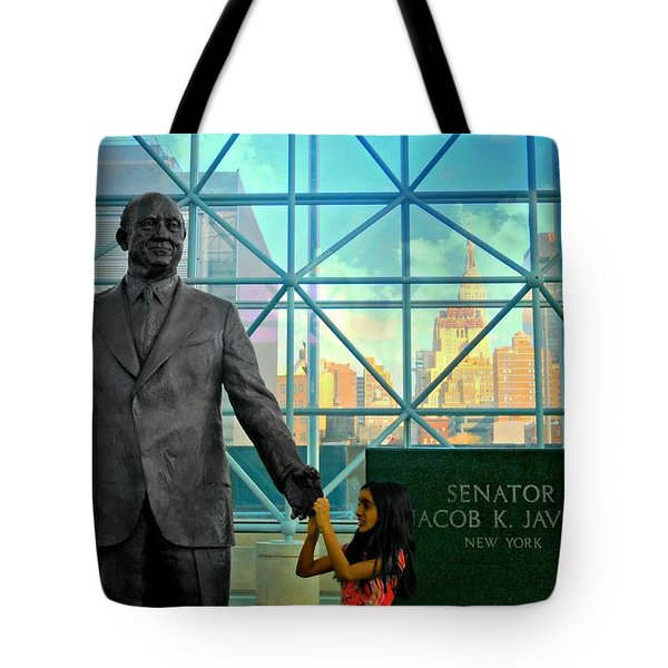 Jacob K. Javits Tote Bag by Diana Angstadt