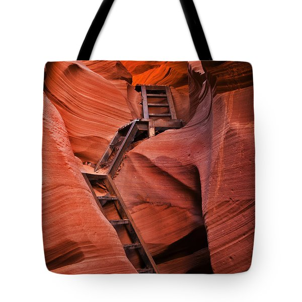 Jacob's Ladder Tote Bag by Mike  Dawson