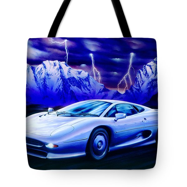 Jaguar 220 Tote Bag by Garry Walton