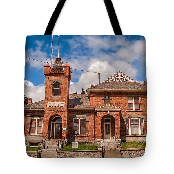Jail Built In 1896 Tote Bag by Sue Smith